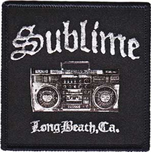 Application Sublime Boombox Patch