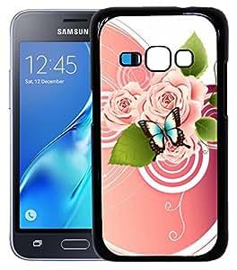 FCS Printed 2D Designer Hard Back Case For Samsung Galaxy J1(2016) -10392