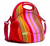 Built Neoprene Extra Relish Lunch Tote, Nolita Stripe