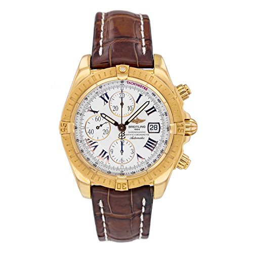 Breitling Chronomat Evolution H13356 18k Rose Gold Automatic Men's Watch