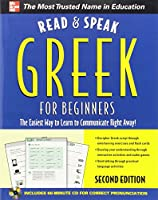 Read and Speak Greek for Beginners with Audio CD, 2nd Edition [With CD] (Read & Speak for Beginners)