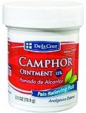 De La Cruz Camphor Ointment 2.5 oz - Pomada De Alcanfor