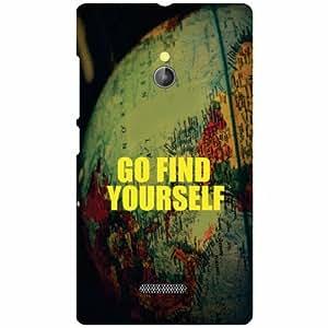 Back Cover For Nokia XL RM-1030/RM-1042 (Printed Designer)
