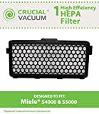 Miele HEPA S4 Range Vacuum Filter Fits SF-AH50, AH50, 05996883, 05996882, 07226170, S4000, S5000, S4, S4 Galaxy, S5 series, S6290 Silence, Designed & Engineered by Crucial Vacuum