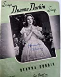 Songs Deanna Durbin Sings [Songbook]