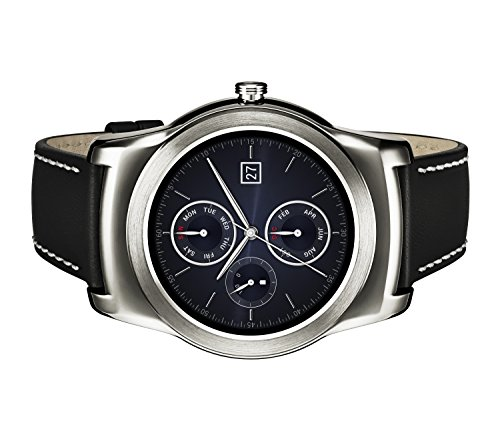 LG Watch Urbane Smartwatch (3,3 cm (1,3 Zoll) P-OLED Display, Android Wear) silber 5