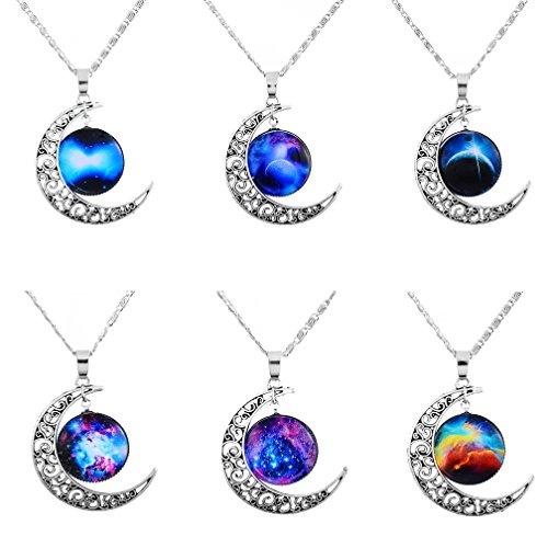 mjartoria-love-across-light-years-filigree-crescent-moon-nebulae-cabochon-friendship-necklace-set-of