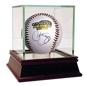 Steiner Sports MLB Boston Red Sox Curt Schilling 2004 WS Baseball by Steiner Sports