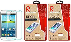 Raydenhy Pack of 2 (2 PCS) 2.5D Curved Edges 0.33MM Thickness Tempered Glass For Samsung Galaxy Grand Quattro (i8552)