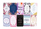 "bloom daily planners Act of Kindess Cards - Pay it Forward Kindness Quote Greeting Cards - Set of TEN 2"" x 3.5"" Cards"