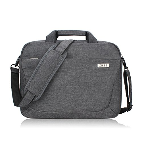 Zikee 15 15.6 inch laptop shoulder bag briefcase for men/women with handle/pocket/strap, laptop sleeve messenger notebook Carrying Case, for Acer Aspire E&Chromebook/Asus/Dell/HP Pavilion (Wheeling Laptop Bag compare prices)