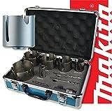 Makita 9pc Universal TCT Holesaw Kit in Aluminium Case - D-51297