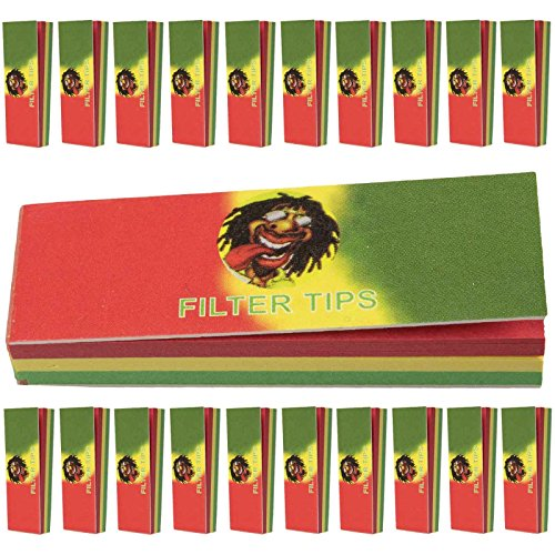 rasta-themed-cigarette-roaches-filter-tips-rolling-paper-card-50-page-per-booklet-red-green-yellow-2
