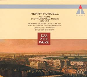 Purcell: Anthems,Instrumental Music and Songs [IMPORT] from Teldec