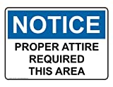 ComplianceSigns Aluminum OSHA NOTICE Sign, 10 x 7 in. with Policies / Regulations Info in English, White
