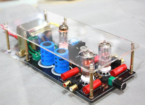 Class A Ge 5670 Tube Valve Preamplifier Preamp Amplifier Include Transformer 110V