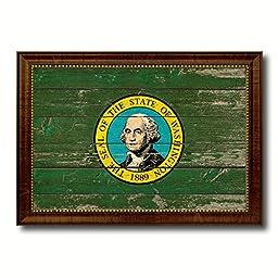 Washington State Vintage Flag Collection Western Interior Design Souvenir Gift Ideas Wall Art Home Decor Office Decoration - 23\