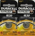 2 Pcs Duracell CR1632 1632 Car Remote...