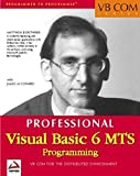 img - for Visual Basic 6 MTS (VB Com) by Matthew Bortniker (1999-06-04) book / textbook / text book
