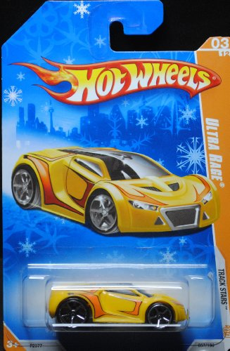2009 Hot Wheels Exclusive Snowflake Card Ultra Rage