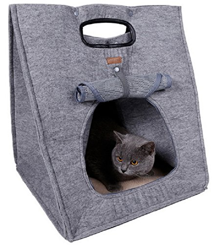 DD&DEE@ Portable Multifunctional Pet Bags Dog Carriers Cat Beds Outdoor Pet Travel Accessories(GRAY COLOR)
