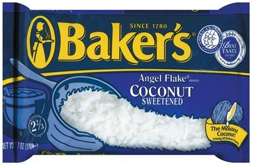 Buy Baker's Angel Flake Coconut, 7-Ounce Packages (Pack of 12) (Baker's, Health & Personal Care, Products, Food & Snacks, Baking Supplies, Coconut Flakes)
