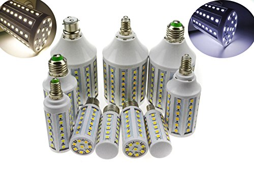 Super Bargain!!! New Model!! E27/E14/B22 18W 5050 Smd White Led Dimmable Corn Light Bulb Saving 110V C In Home