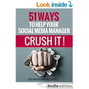 Social media manager book cover