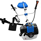 Rotfuchs® BC52 blue brushcutter with 3 hp and 52cm³ GS