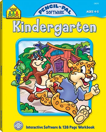 Pencil Pal Kindergarten (paperback with cd-rom)
