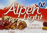 Alpen Light Cherry Bakewell Bars 19 g (Pack of 5)