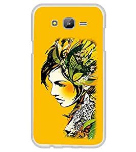 ifasho Jungle girl Back Case Cover for Samsung Galaxy On 7