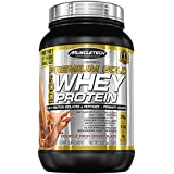 MuscleTech Pro Series Premium Gold 100% Whey Powder, Double Rich Chocolate, 2.5 Pound