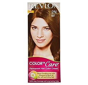 Revlon Combo of Color N Care Hair Color - Brown Black 2N
