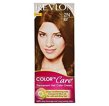 Revlon colorsilk hair color brown black 2n