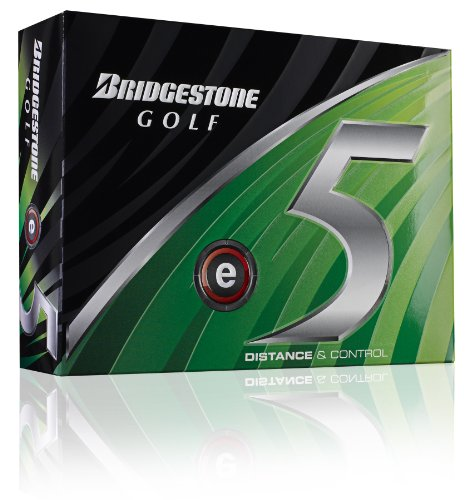 Bridgestone E5 Golf Ball (2011 Model) (12 Pack)