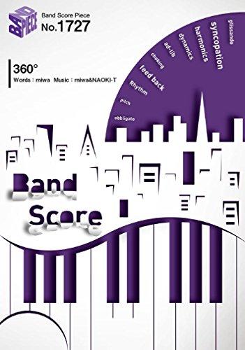 バンバンドスコアピース1727 360° by miwa ~『映画ドラえもん のび太の宇宙英雄記(スペースヒーローズ)』主題歌  (BAND SCORE PIECE)