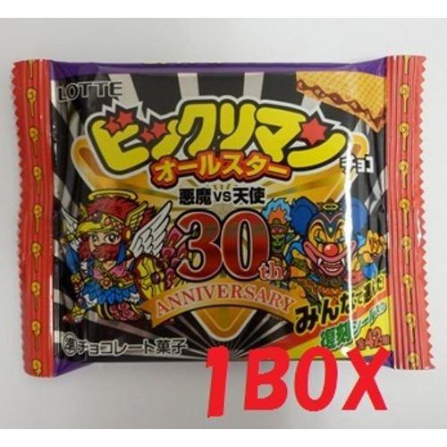 ロッテ「ビックリマンオールスターチョコ」 30個入り1BOX