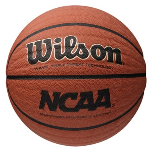 Wilson NCAA Wave Microfiber Composite Basketball, 29,5 - Inch, Orange