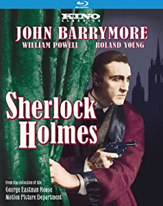 amazoncom sherlock holmes bluray john barrymore