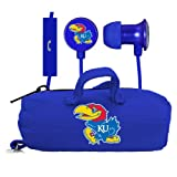 NCAA Kansas Jayhawks Scorch Earbuds and Mic Clamshell with BudBag at Amazon.com