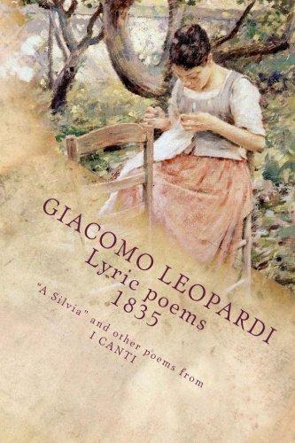Giacomo Leopardi: Lyric Poems