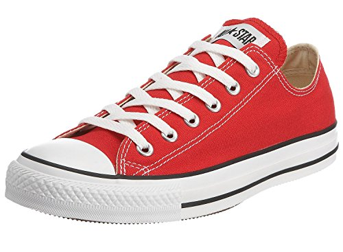 Converse Unisex Chuck Taylor All Star OX Sneaker (8 D(M) US, Red)