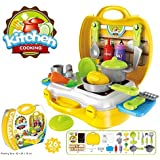 Pratham Attractive Dream Kitchen Set Cooking Pretend Play Toys For Kids