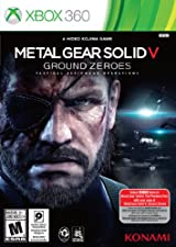 Metal Gear Solid V: Ground Zeroes, Xbox 360 edición estándar.