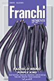 Franchi Dwarf French Bean Purple King