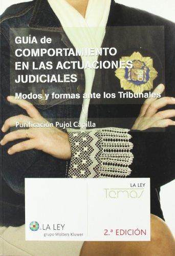Guia de comportamiento en las actuaciones judiciales (2ª ed.)