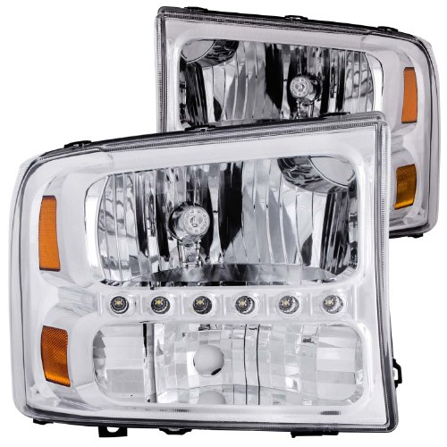 Anzo USA 511052 GMC SierraYukon Chrome LED Parking Light Assembly Sold in Pairs