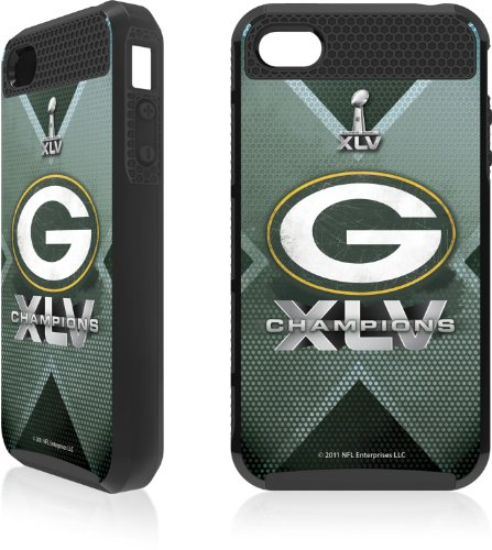 Skinit 2011 Green Bay Packers Super Bowl #45 Champions Apple Iphone 4 / 4s Cargo Case Picture