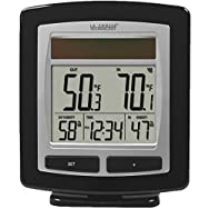 La Crosse Solar-Powered Wireless Weather Station-WIRELESS WEATHER STATION